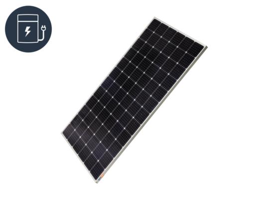 Solar PV off-grid - power storage icon